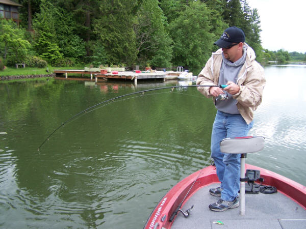 Tapps lake information northwest fishing reports for Wdfw fishing emergency rules