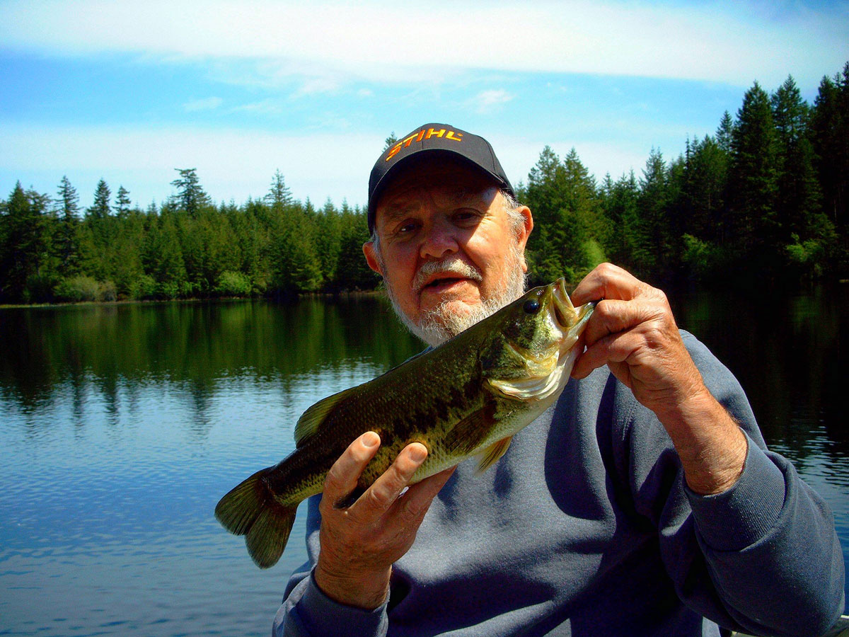 Jiggs lake information northwest fishing reports for Larry king fish oil