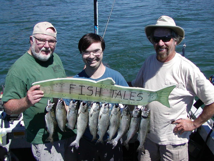 Summer trolling for king salmon on lake oroville for Lake oroville fishing report