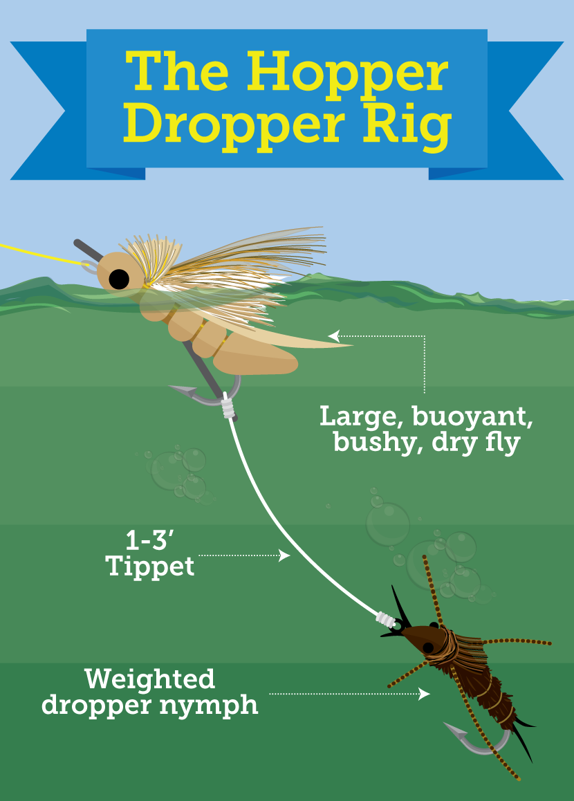 Multiple fly rigs for trout northwest fishing reports for Fly fishing rig