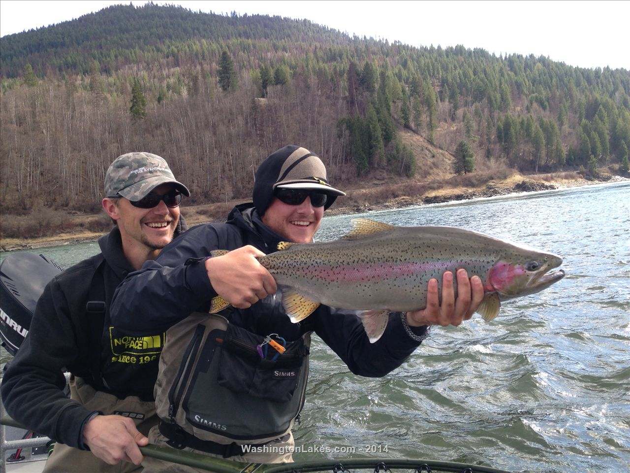 20 upper columbia river to canadian border fishing for Columbia river fishing report