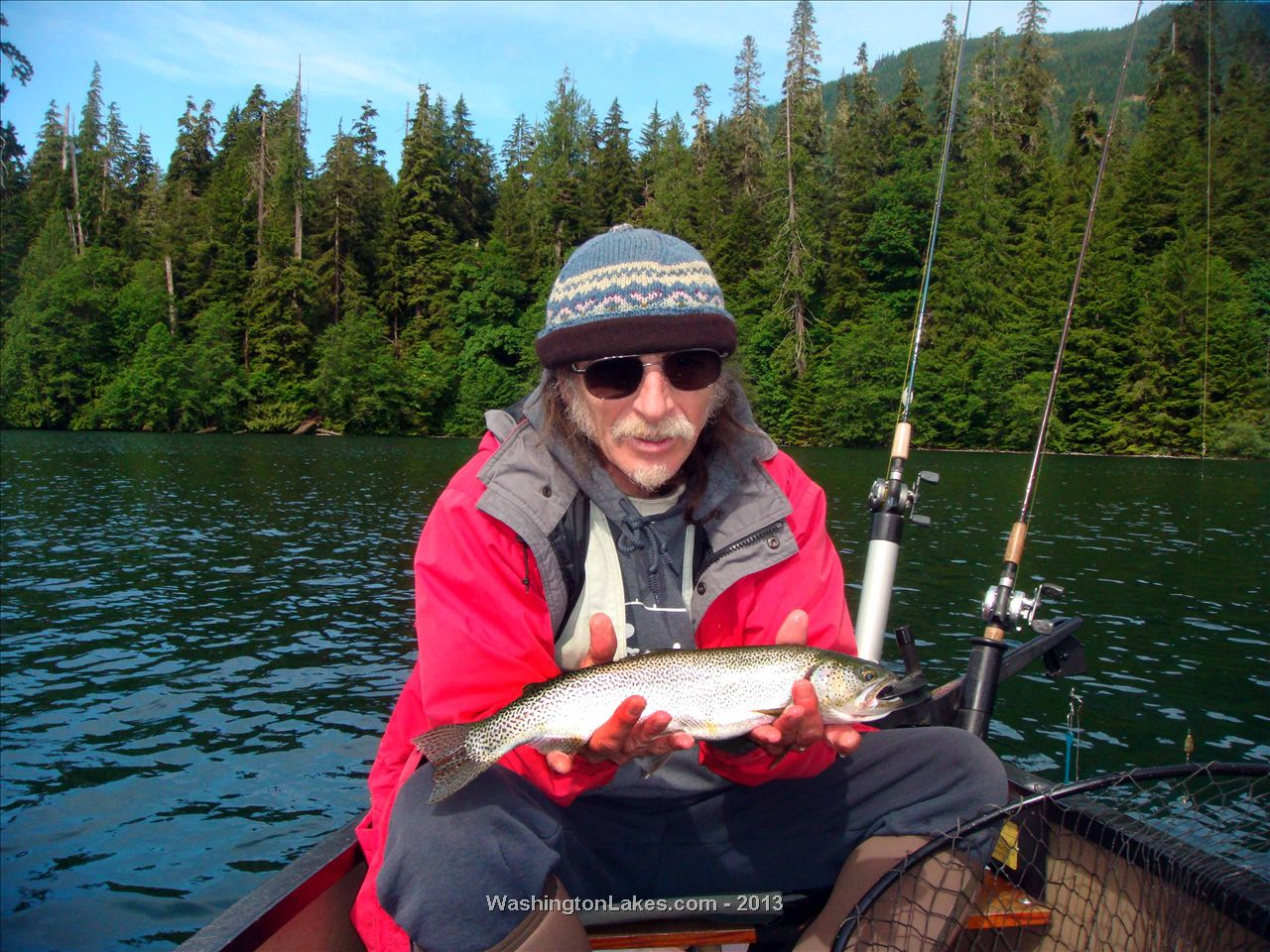 Wynoochee fishing report northwest fishing reports for Nw fishing report