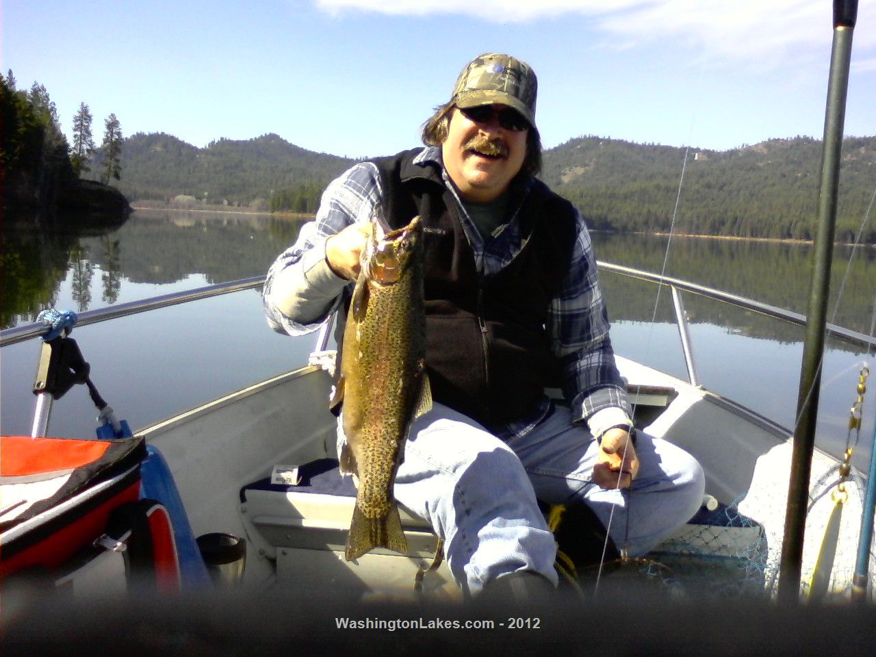 twin lakes lake photo gallery northwest fishing reports ForTwin Lakes Fishing Report