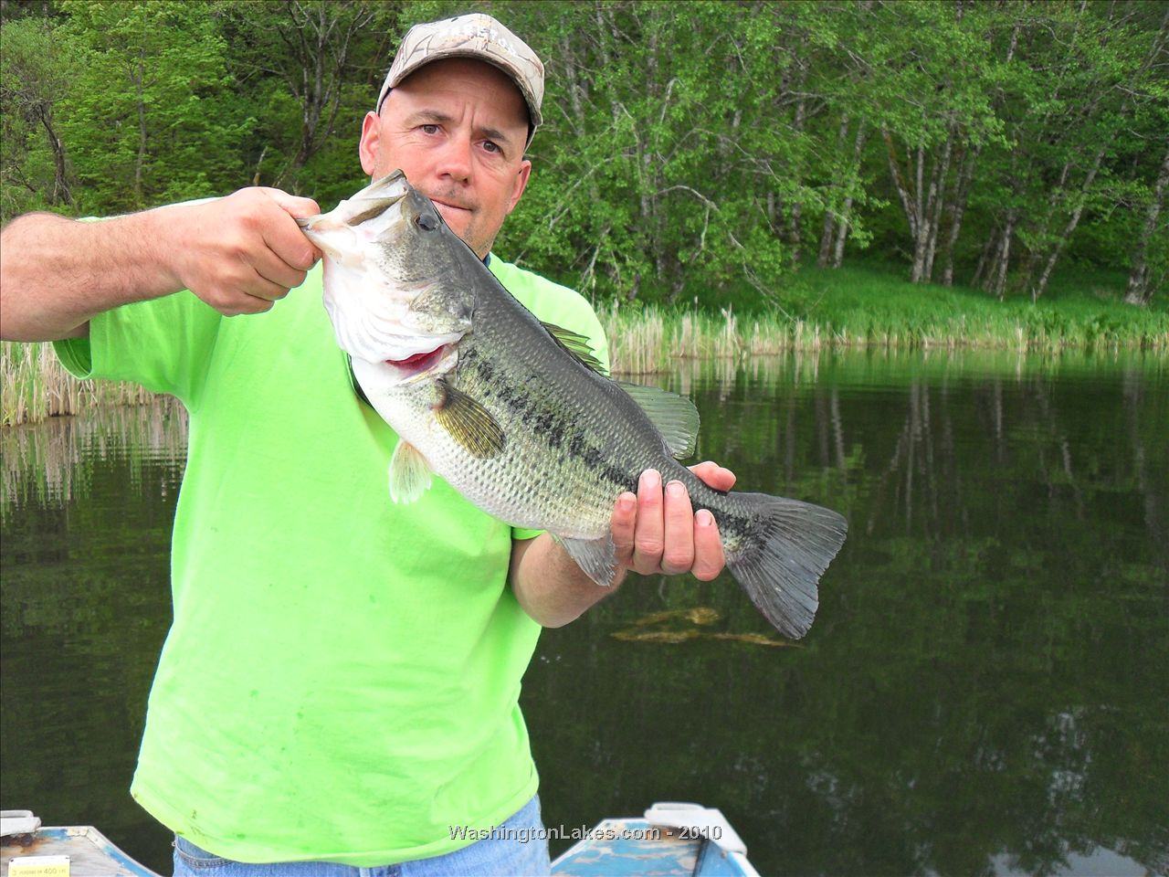 Swofford pond fishing report northwest fishing reports for Pond depth for fish