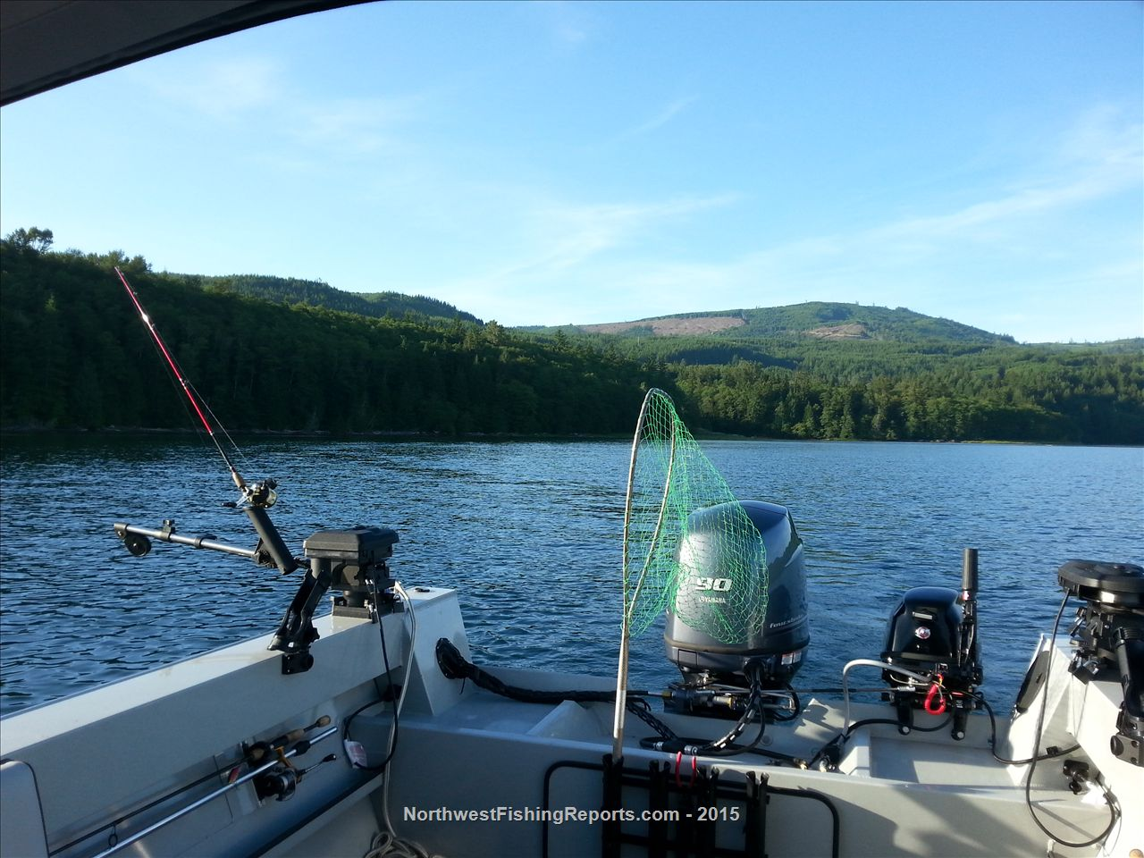 Riffe fishing report northwest fishing reports for Nw fishing report