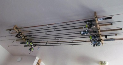 Rod Storage Ideas Garage Door And Wall Mount Share Yours Northwest Fishing Reports