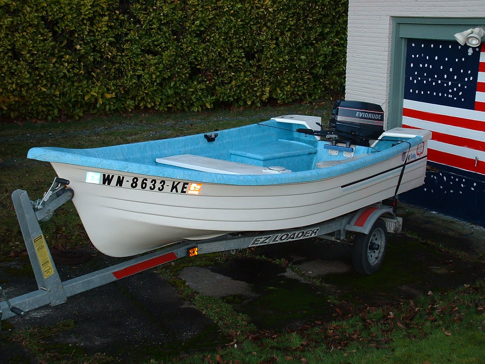 14 ft boat salty w 20 hrse evinrude extras 3500 for 14 ft fishing boat